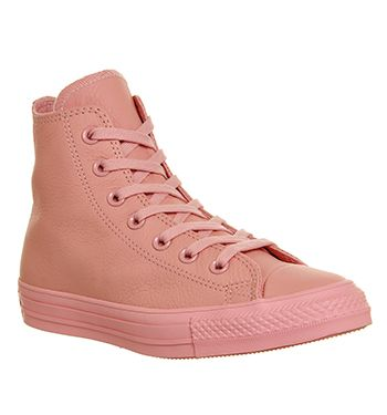 Converse All Star Hi Leather Baby Pink Exclusive - Unisex Sports ... 860c431c11