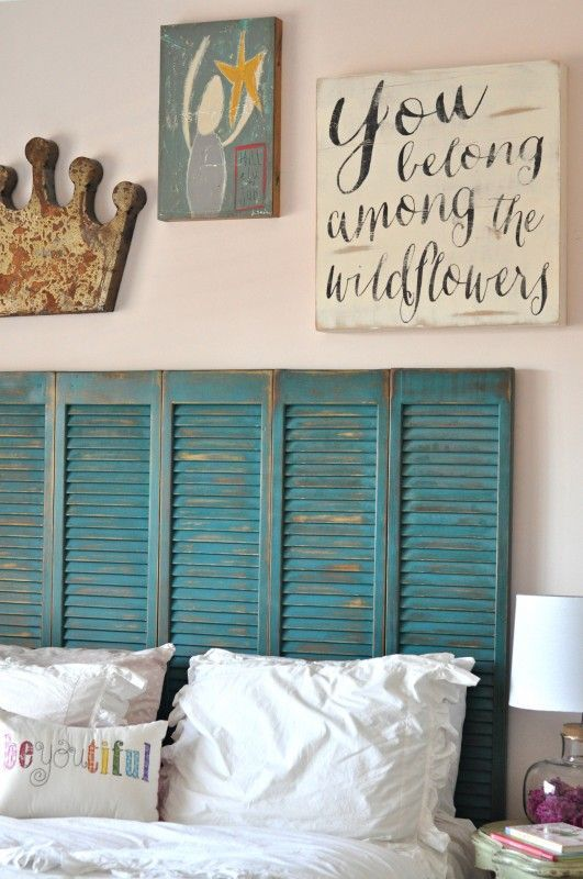 Gray And Coral Bedroom Inspiration Wooden Shutters Master Bedroom And Teal