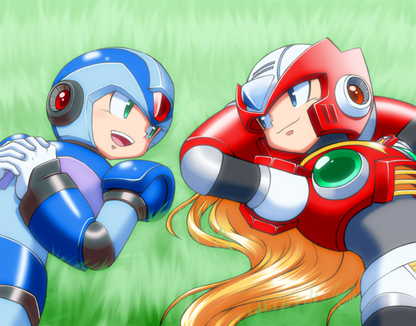 Fuckyeahxzero Mega Man Art Mega Man Anime Dragon Ball Super