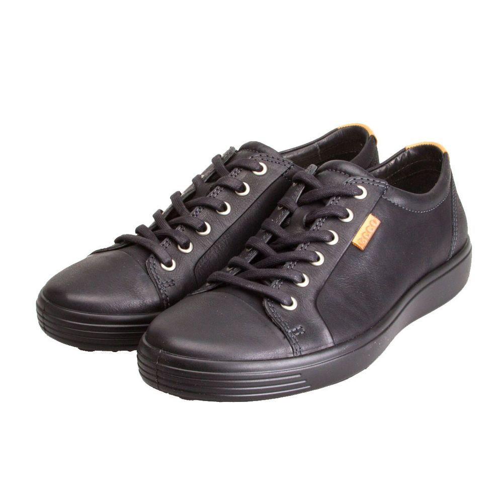 1d03d7cf53e60c Ecco Soft 7 Men Casual shoes Sneaker Leather New trainer black 430004-51707   ECCO  Trainers
