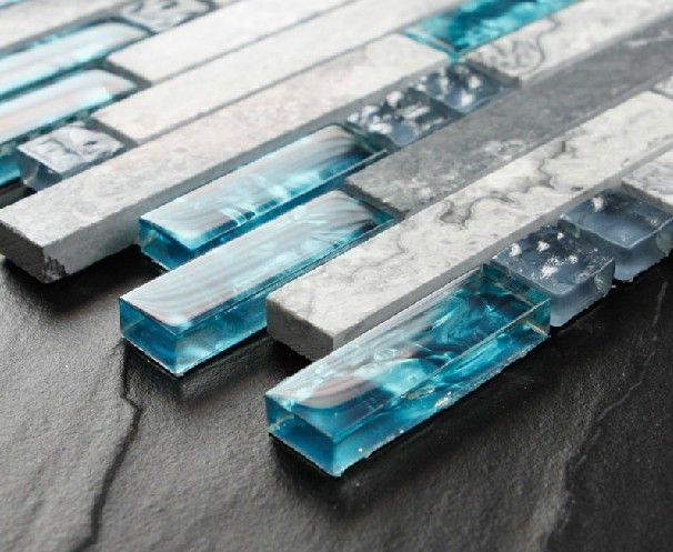 how to cut glass tile already on wall