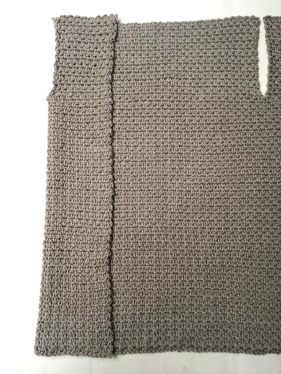 Een Vest In De Weefsteek Crochet Pinterest Crochet Crochet