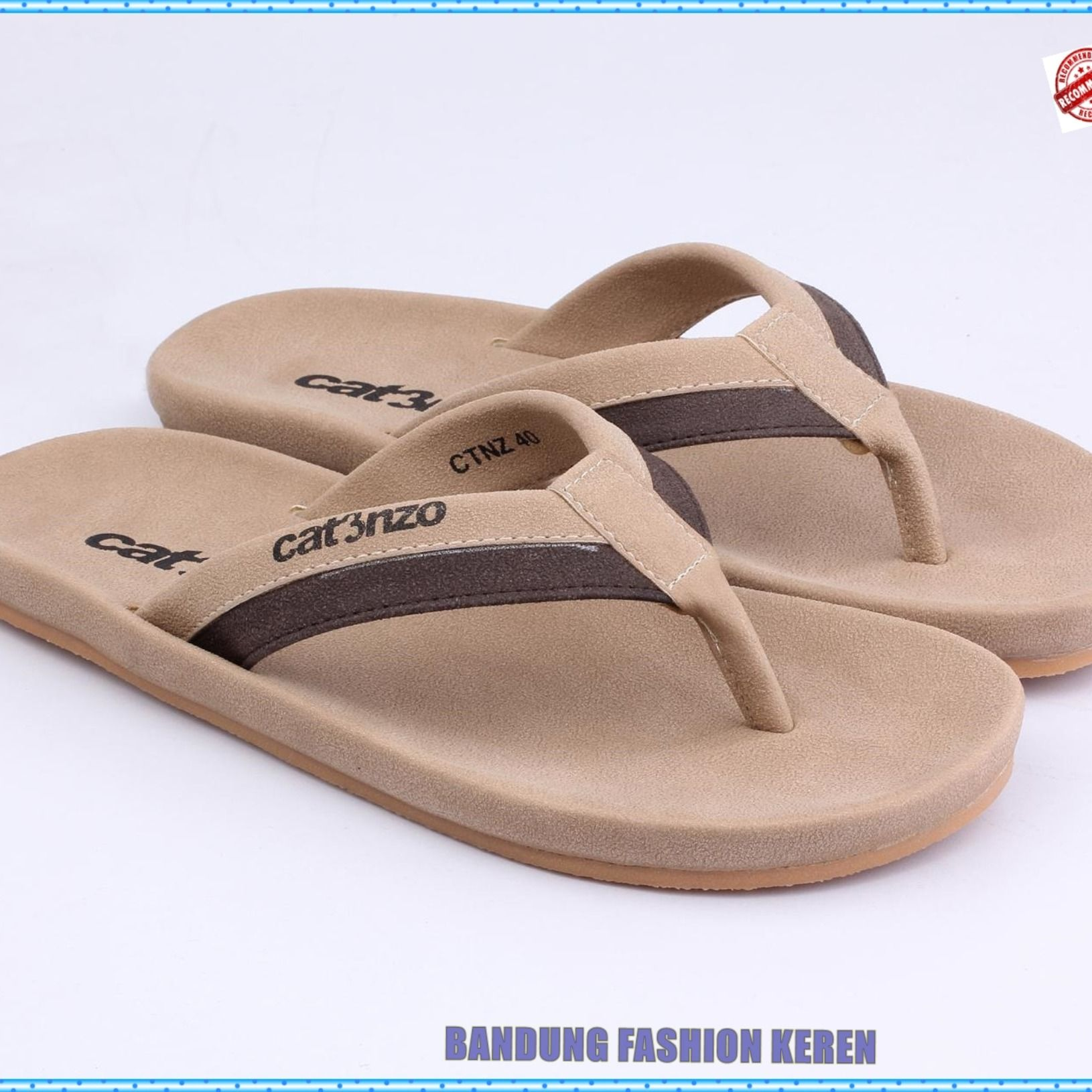 Sandal Casual Pria No 091 Produk Fashion Handmade Terbaik 100