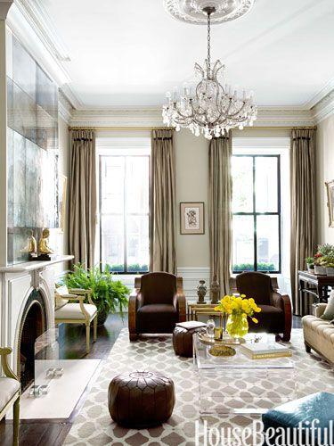 A Proper Boston Brownstone Elegant Living Room Design Luxe Living Room Elegant Living Room
