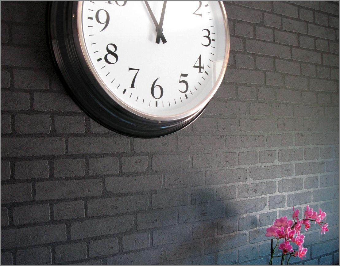 czarna cegła, loft / O Rety Tapety