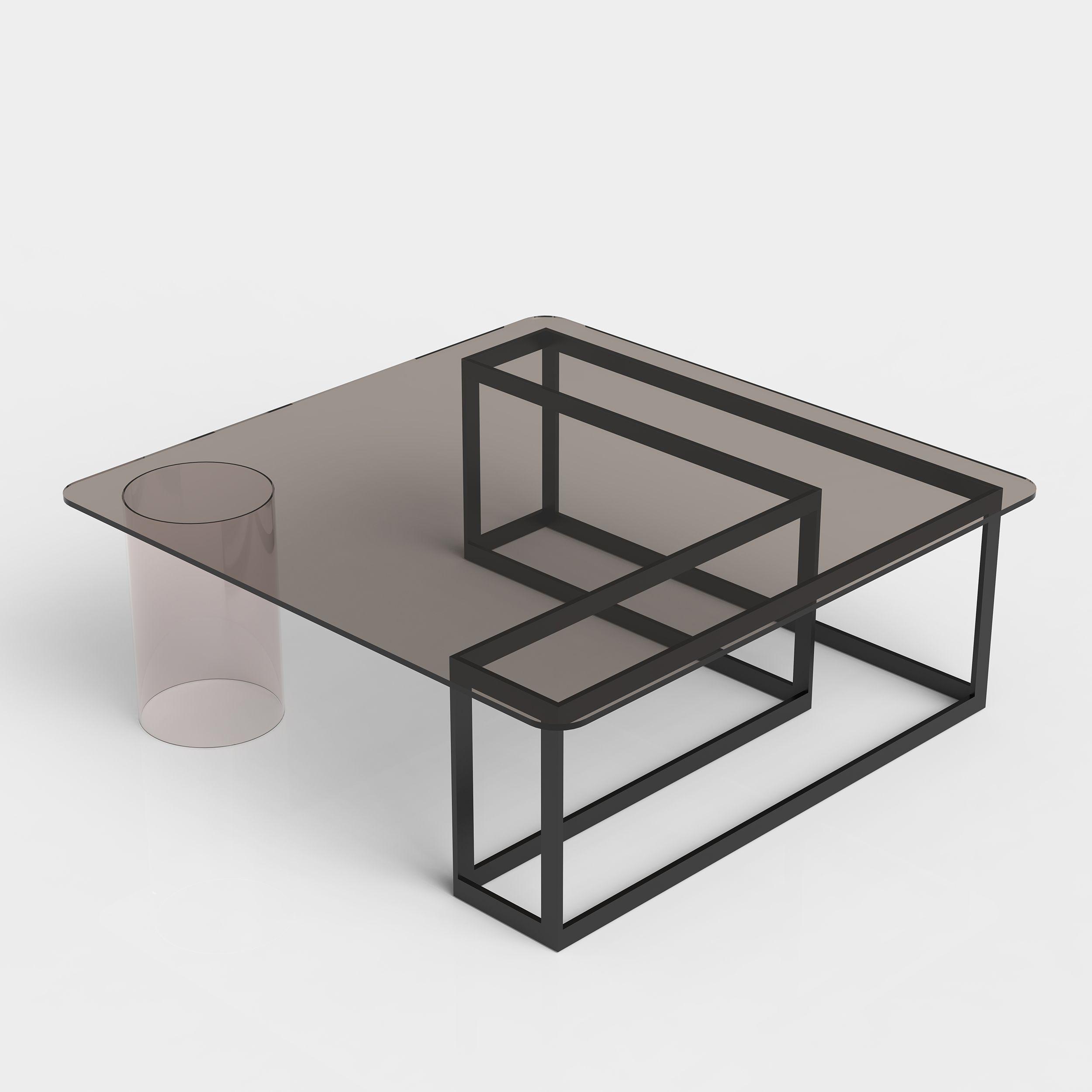 Nunki Coffee Table Square Iacoli Mcallister Coffee Table Square Coffee Table Grey Glass