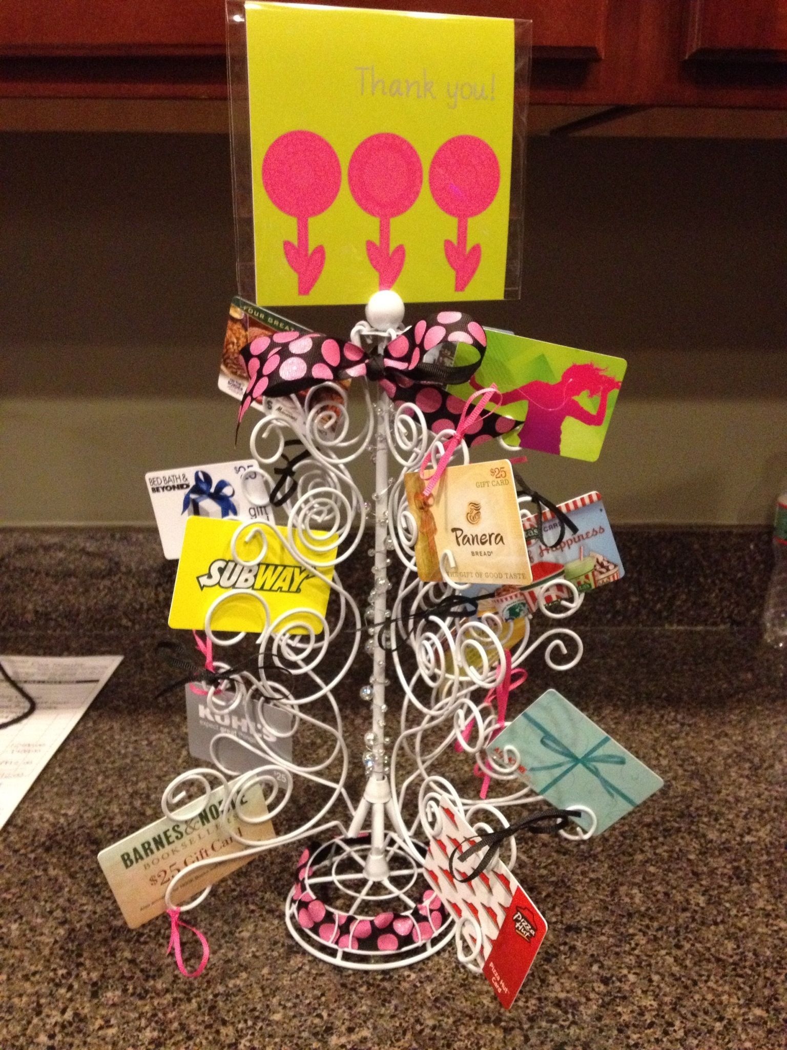 Gift card tree perfect for mom gift ideas pinterest gift gift card tree perfect for mom negle Choice Image