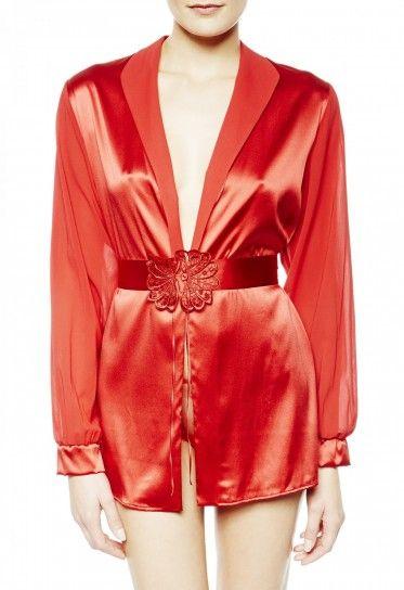 Vestaglia rossa La Perla
