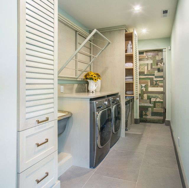 Clothes Rack Target Laundry Room Contemporary With Caesarstone