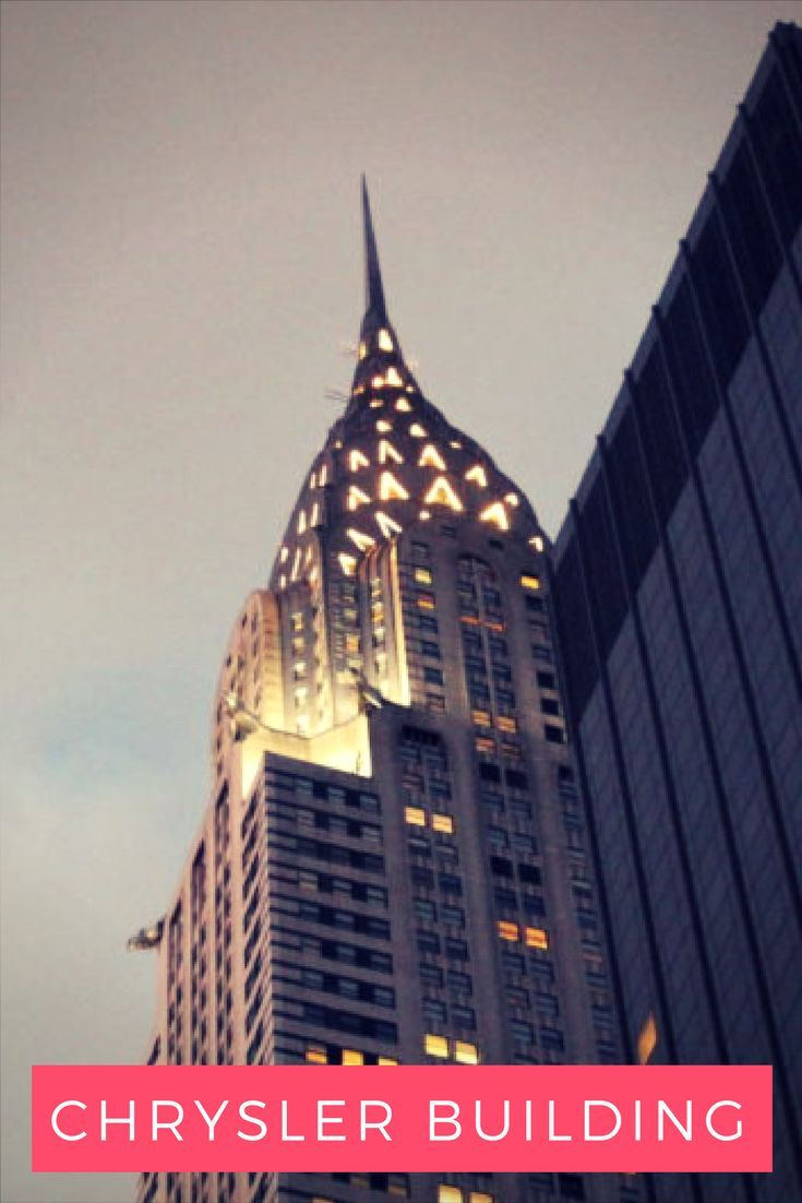 Chrysler Building: iconic landmark of New York, used to be largest building of the world. Discover its beauty and its history. Travel in North America.