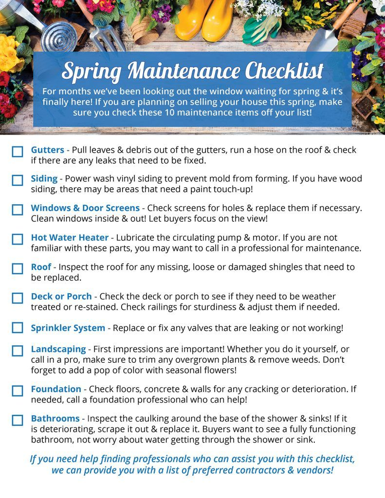 Photo of Checkliste für die Frühjahrspflege Ihres Hauses [INFOGRAPHIC]