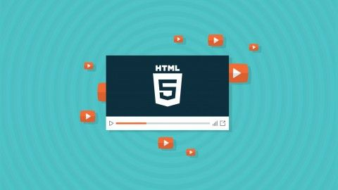 Create An HTML5 Video Player From Scratch - udemy course | Udemy