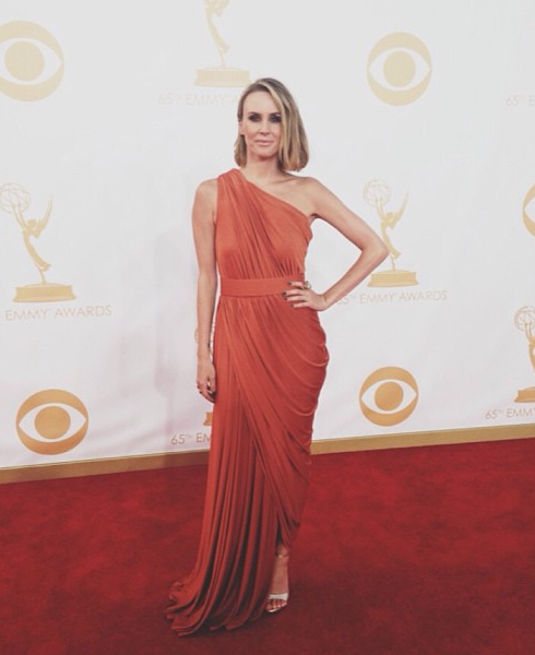 Keltie Knight at 65th Annual Primetime Emmy Awards