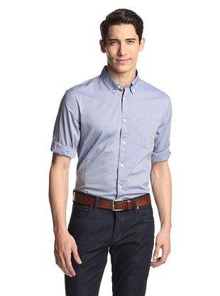 65% OFF John Varvatos Men's Star U.S.A. Roll Up Shirt with Button-Down Collar