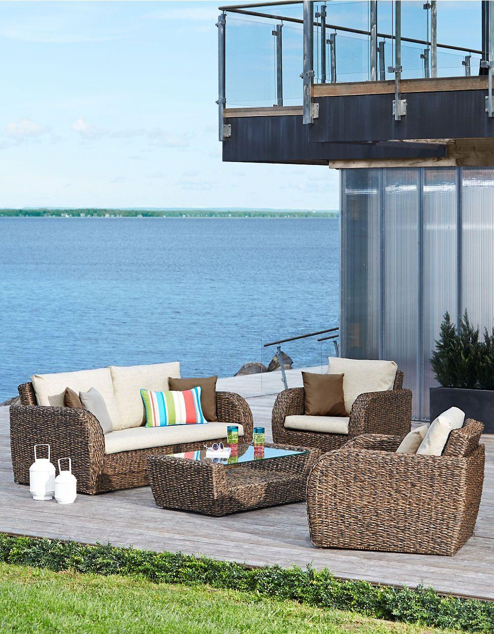 Home Lounge Sets Kopipi 4 Piece Conversation Set Hudson S Bay