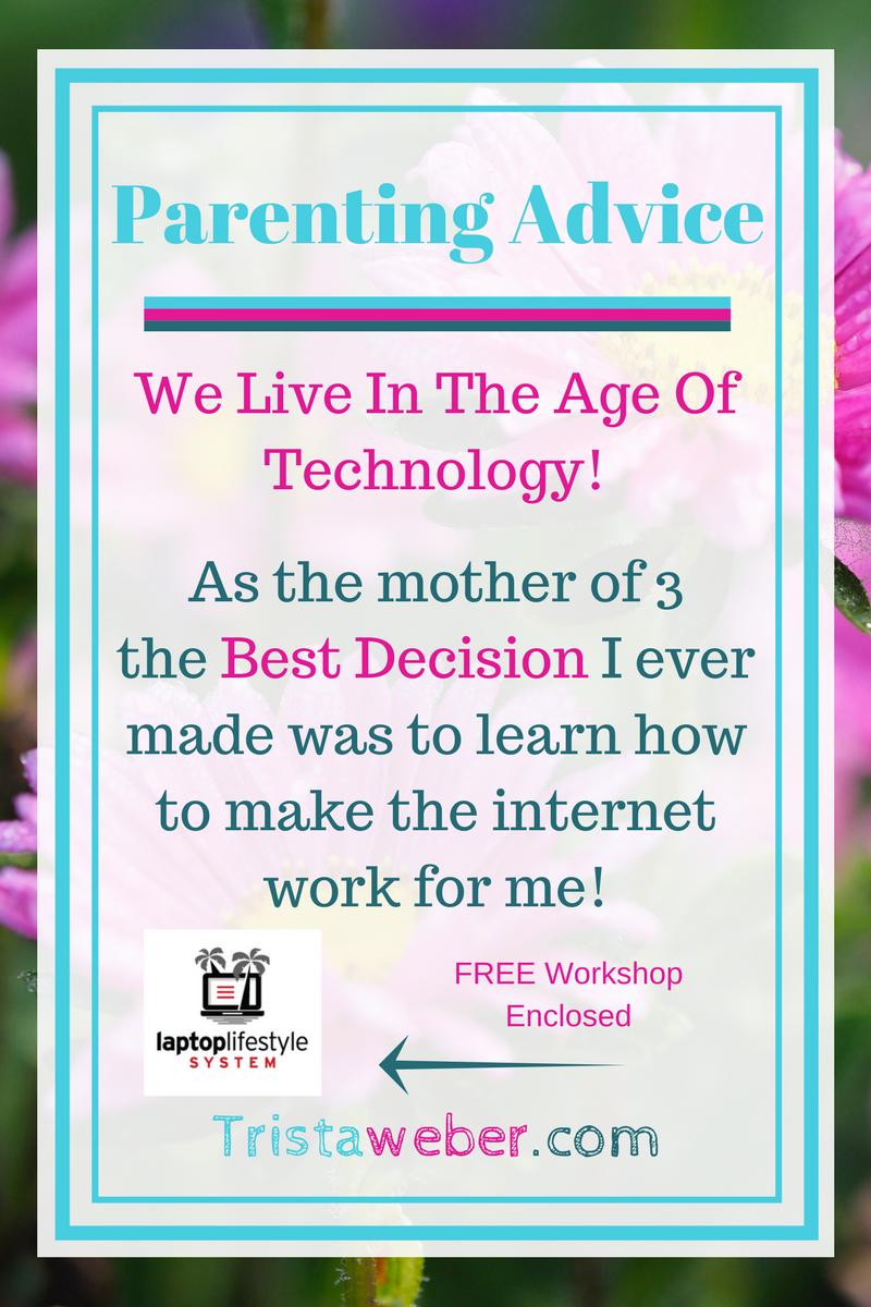 how i became a work from home parent tristaweber com pinterest