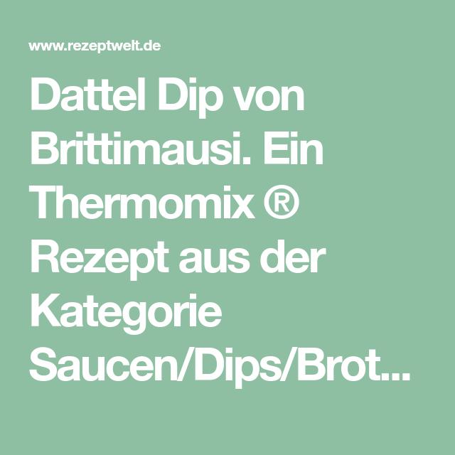 Dattel Dip