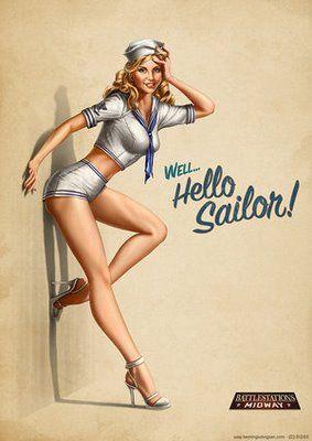 Vintage Nurse Hot Girls Wallpaper