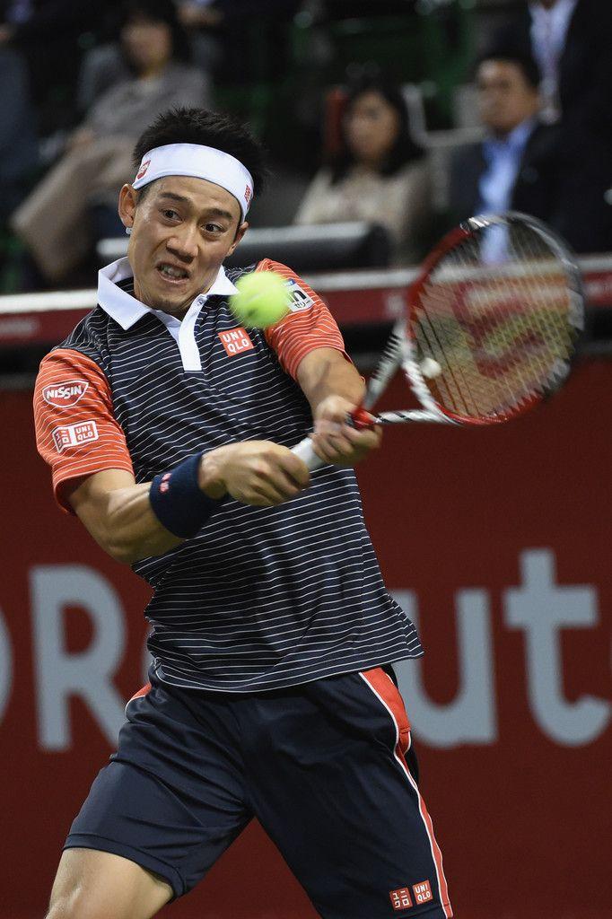 Kei Nishikori Photos: Rakuten Open 2014 - Day Seven