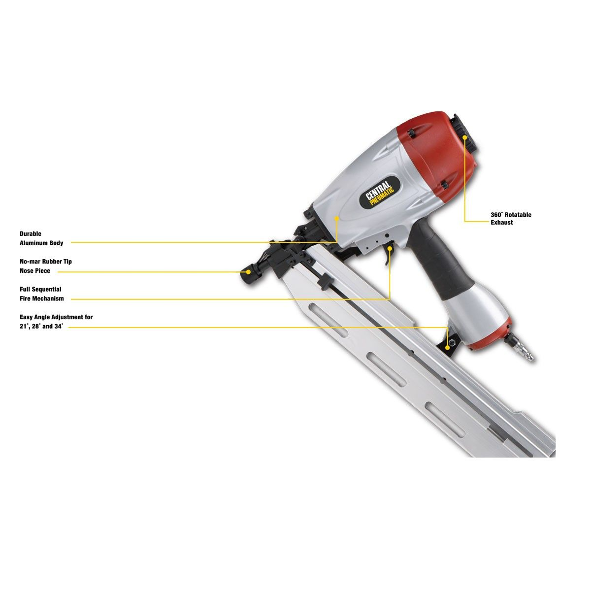 3-in-1 Framing Air Nailer | Tool List of Needs\Wants | Pinterest