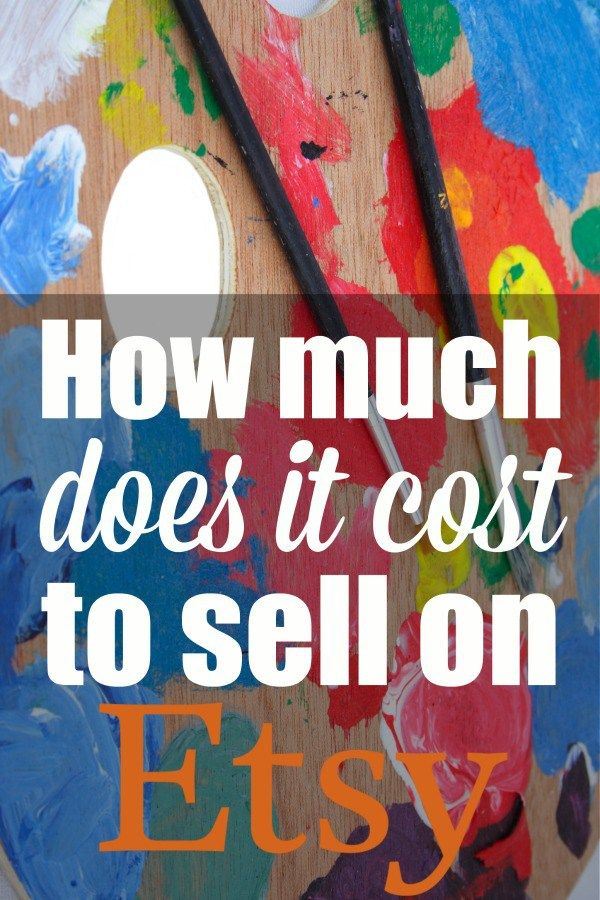 How Much Does It Cost To Sell On Etsy With Images Things To Sell Sell On Etsy Etsy Painting