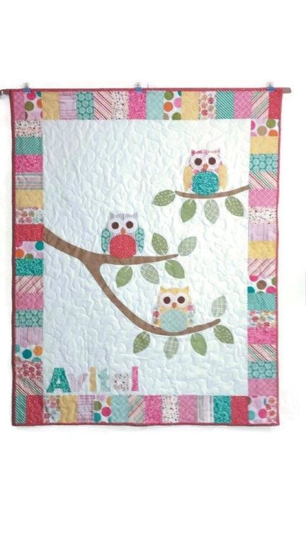 Do You Know The Name Of This Owl Baby Quilt Pattern Baby Quilt