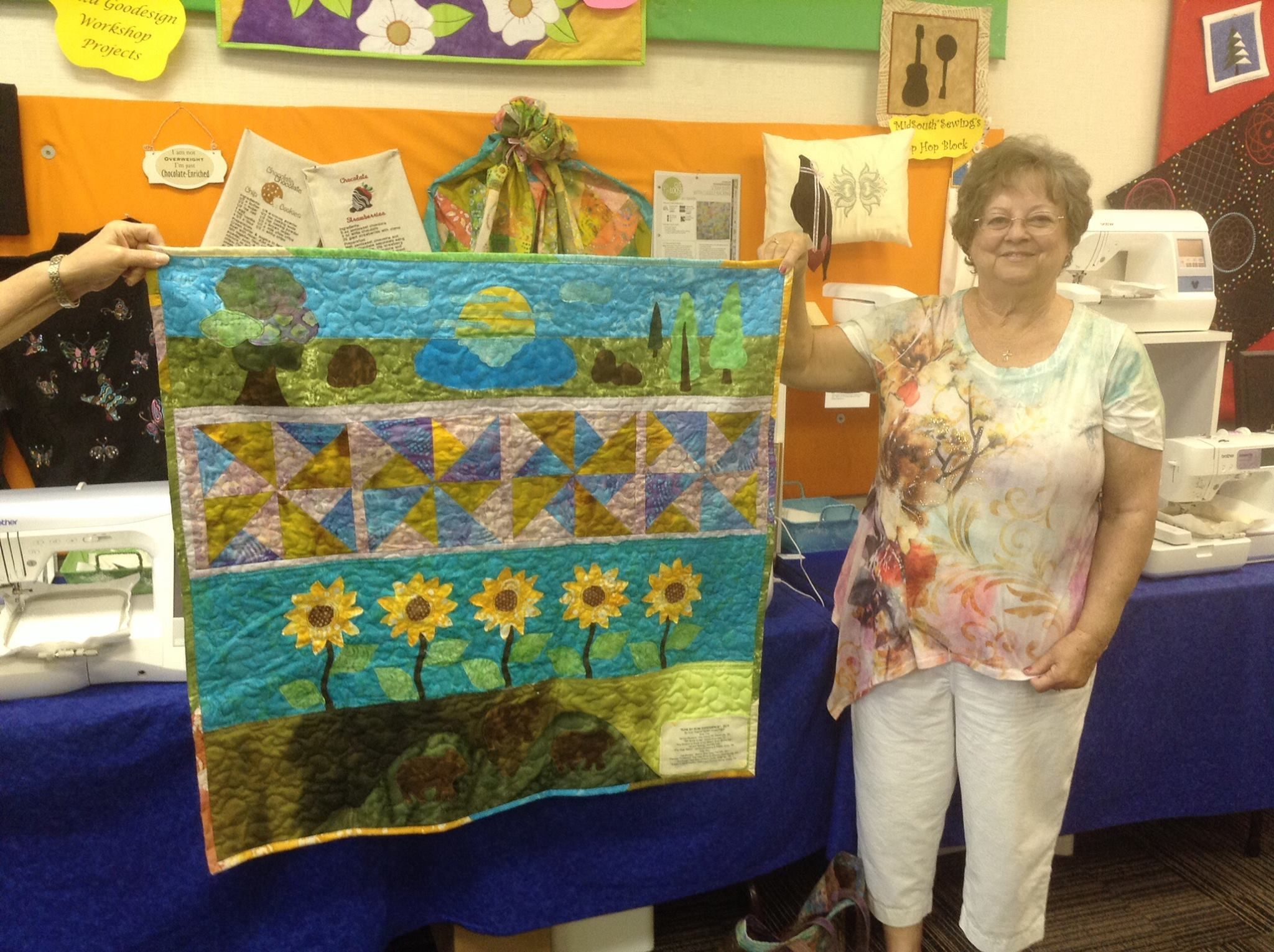 MidSouth Sewing Knoxville, Has a WINNER. Judy Rodgers she has 4 ... : cherry pit quilt shop - Adamdwight.com