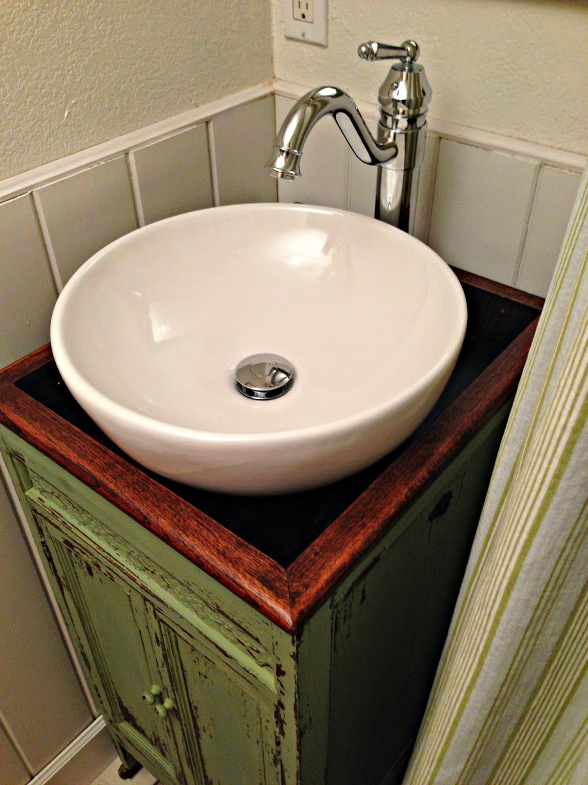 I Have Been Looking For Some Sort Of Cabinet To Turn Into A Vanity For Our  Small Guest Bathroom For Quite Some Time. Find This Pin And More On DIY ...