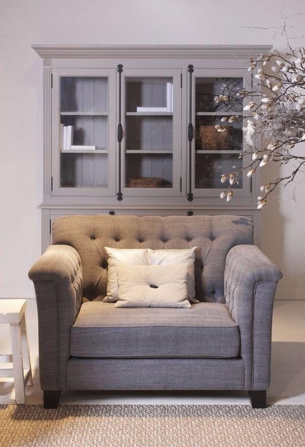 Landelijke Lounge Stoel.Lounge Of Leesstoel Leesstoel Huis Interieur En Woonkamer
