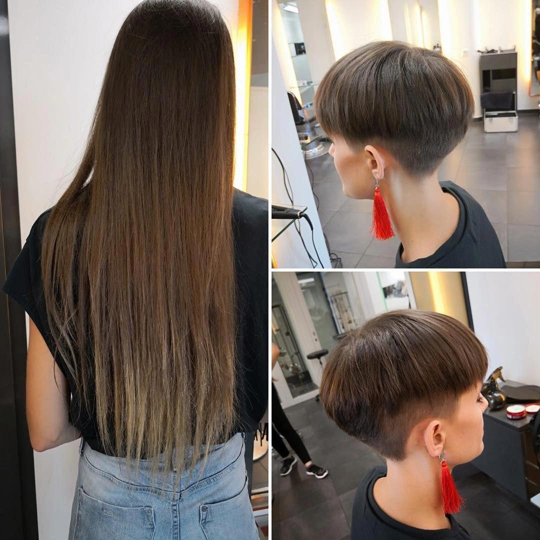 diy hairstyles for long hair step by step #Diyhairstyles in 2020 | Hair styles, Short wedge ...