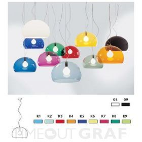 Fly FL / Y Suspension Light Kartell - TIMEOUTGRAF.com Design Lampen Design Möbel Design Einrichtung