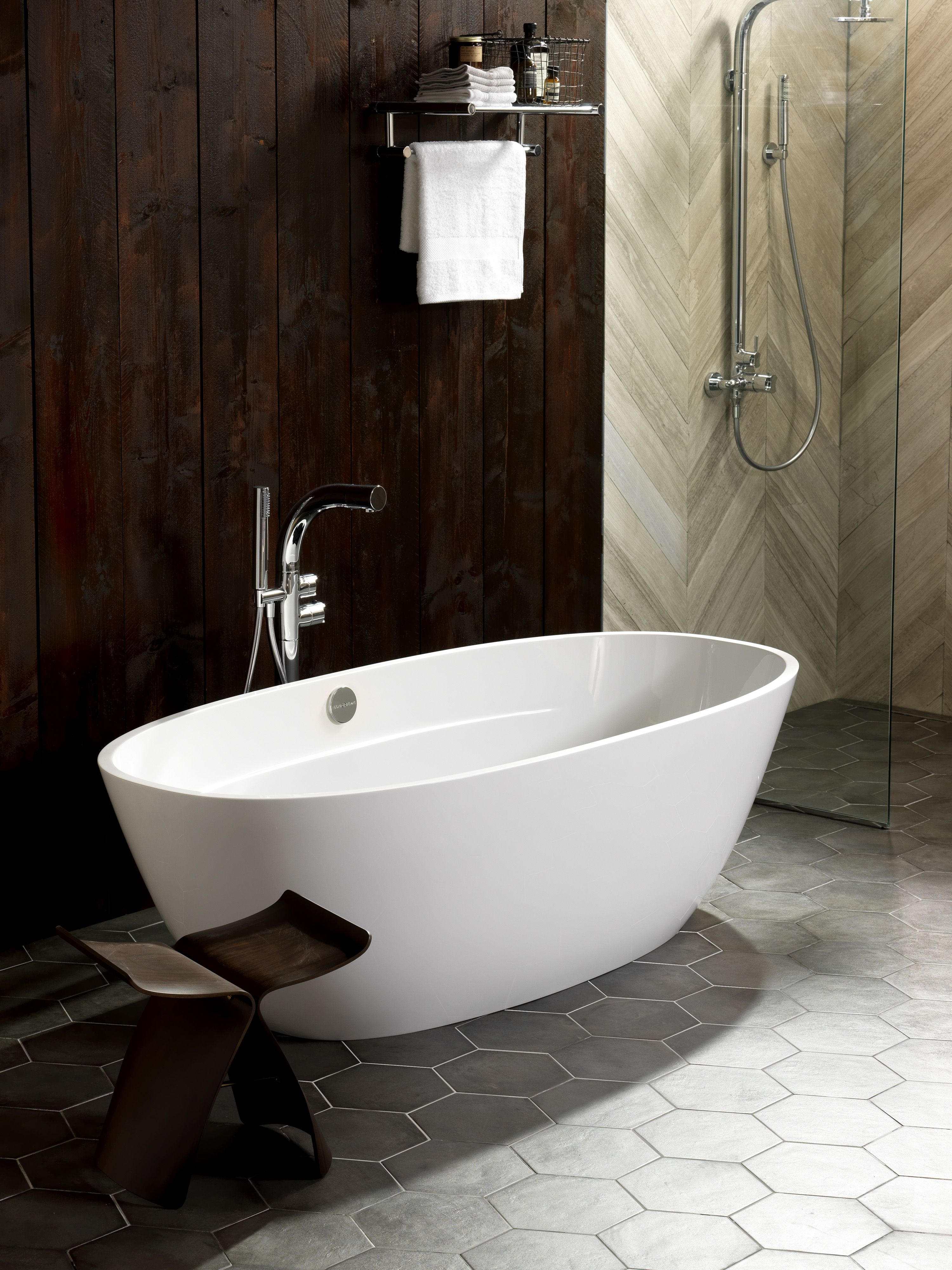 Terrassa Badgestaltung Badewanne Wanne