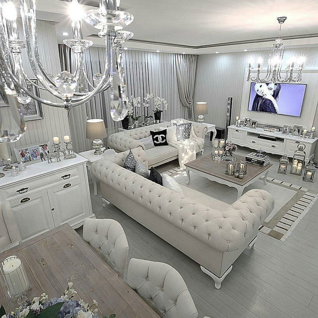 The Latest Luxurious Trends For Your Home Decoration Discover More Luxurious Interior Design Detai Modern Glam Living Room Luxury Living Room Glam Living Room