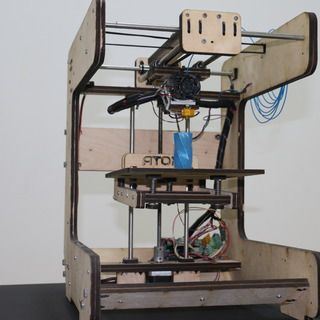 Atom 3d Provides Instructables Tutorial To Make Low Cost Simple Diy 3d Printer Extruder 3dprint Com The Voice Of 3d Printing Additive Manufacturing 3d Printer Extruder 3d Printer Diy 3d Printing