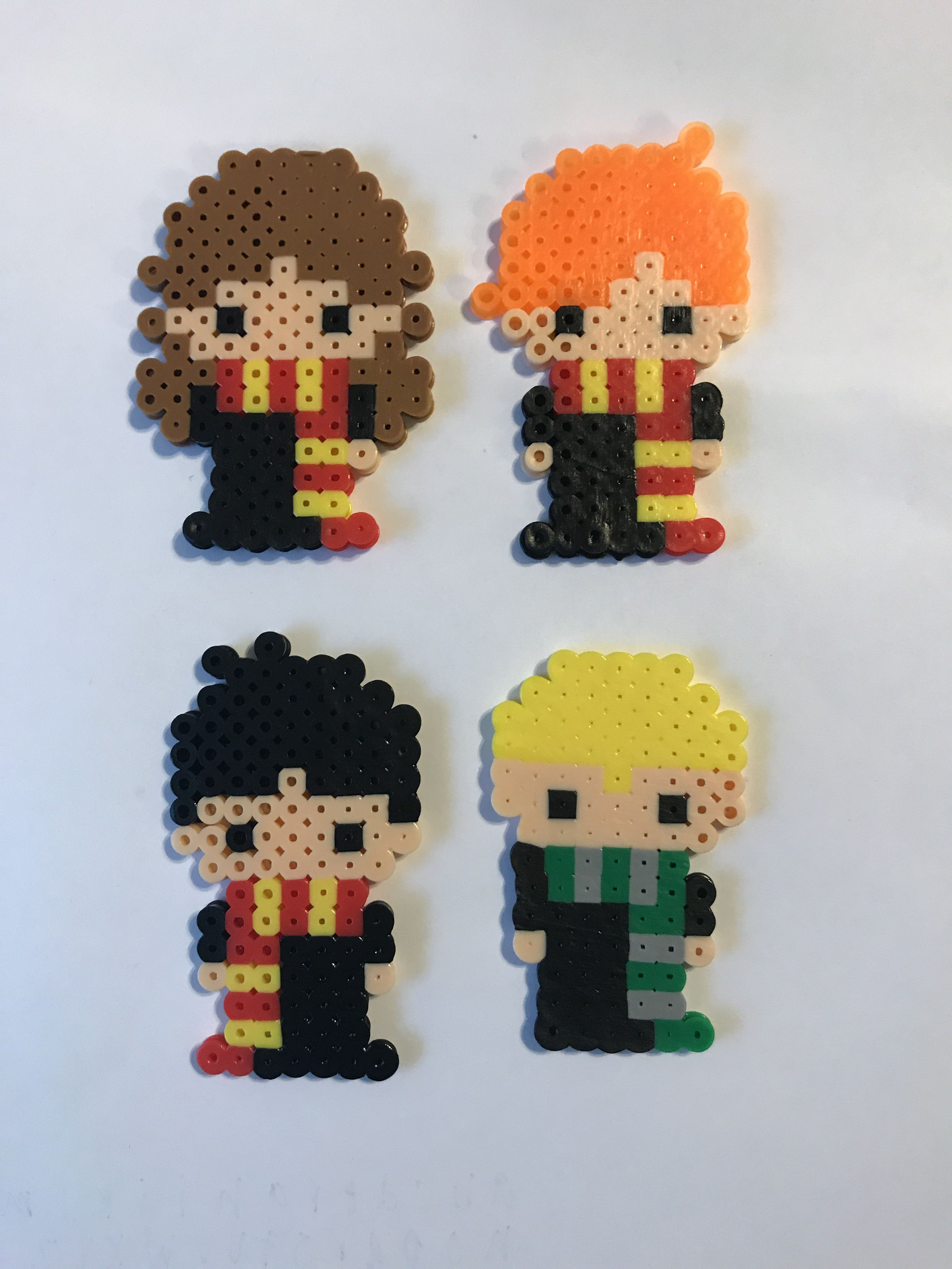 Harry Ron Hermione And Draco Perler Bead Patterns Harry Potter Perler Beads Hama Beads Design Easy Perler Bead Patterns Hello everyone, it is time for chapter six of year three of our magical journey walkthrough for harry potter: draco perler bead patterns