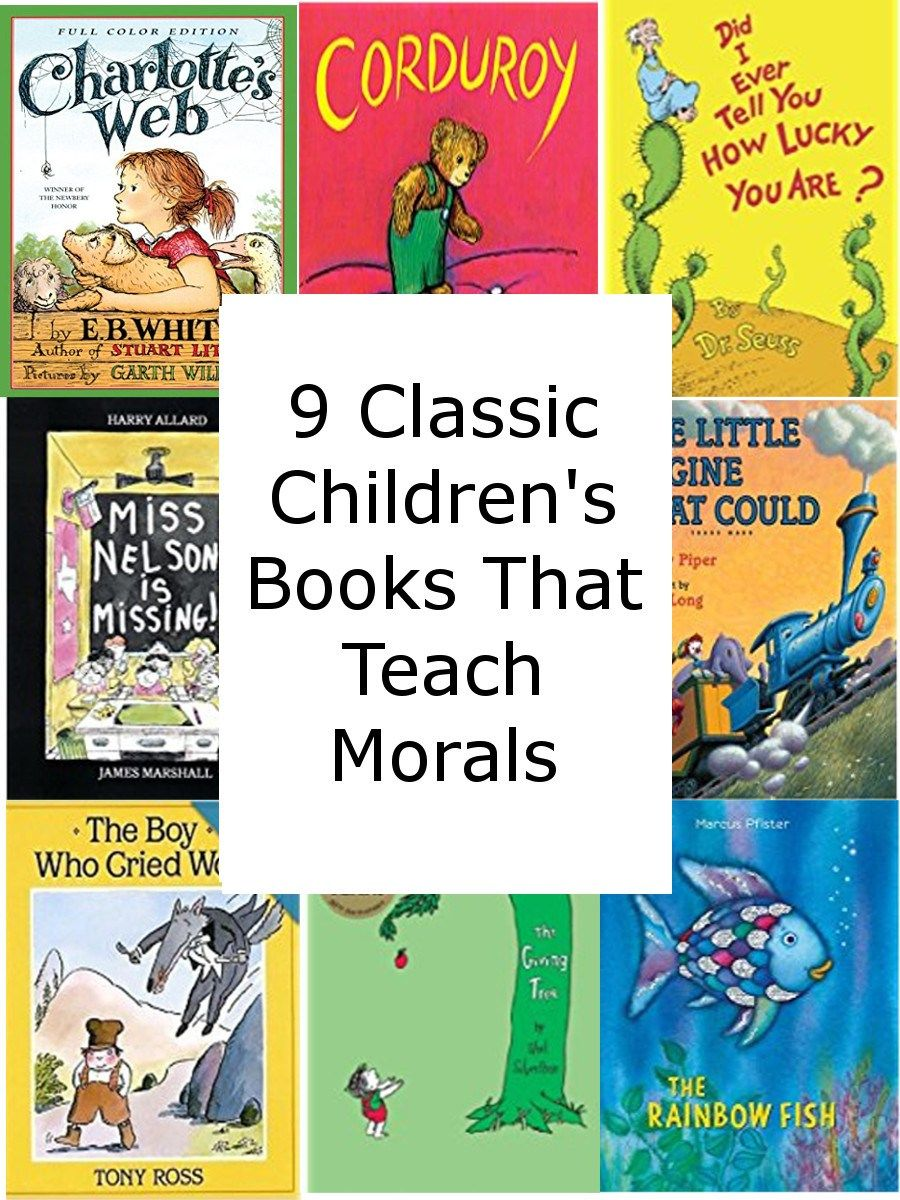 9 Classic Children's Books That Teach Morals