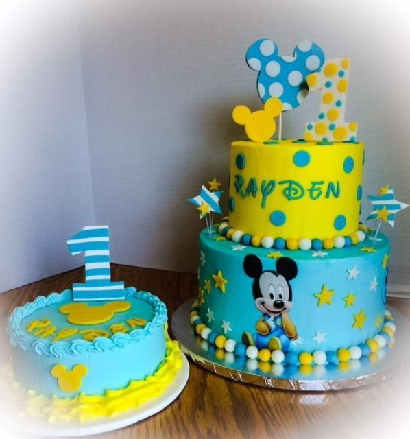 Miraculous You Have To See Disney Babies Mickey Mouse Cake By Lorimcclaflin Funny Birthday Cards Online Alyptdamsfinfo