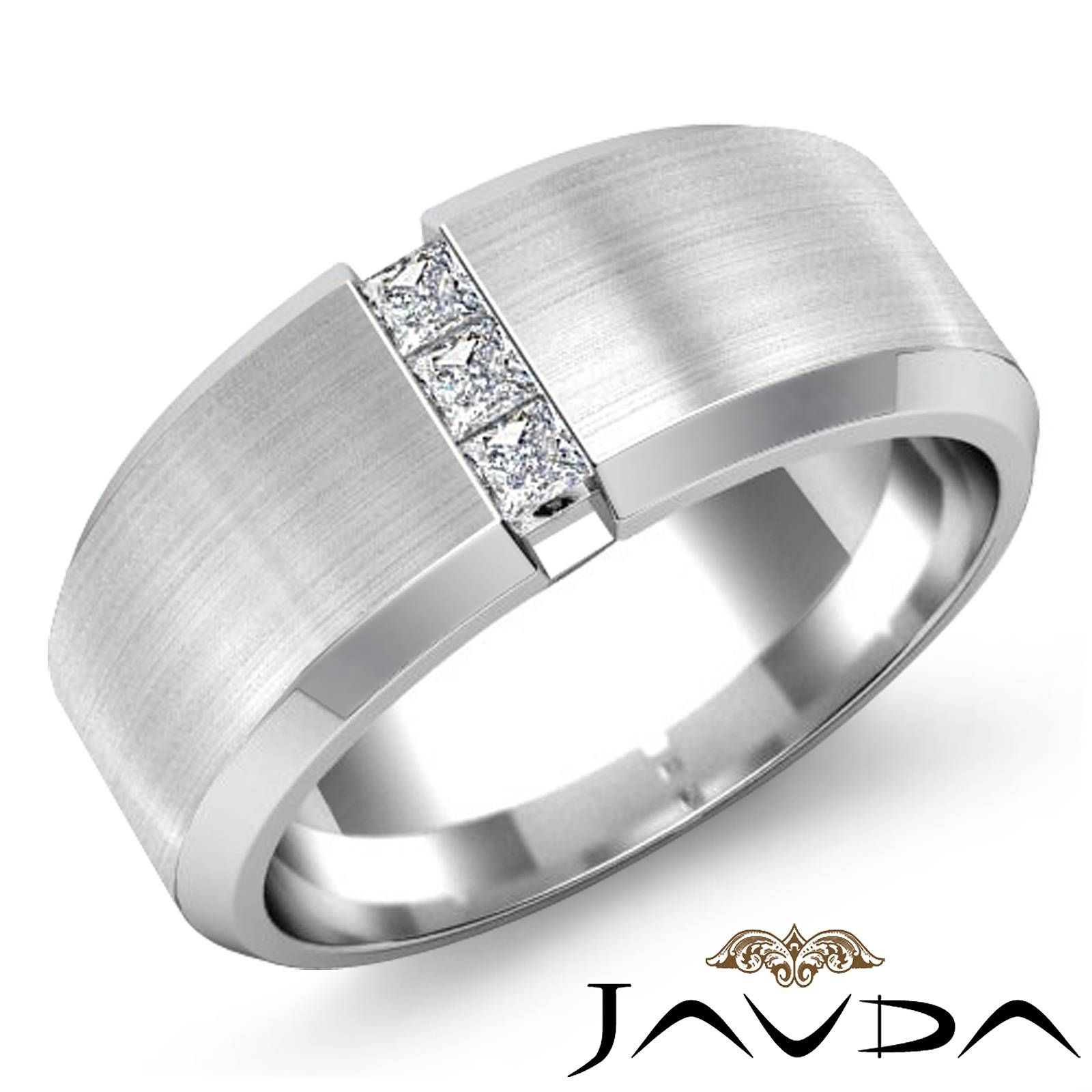 15 Beste Sammlung Von Platin Diamant Herren Hochzeits Ringe