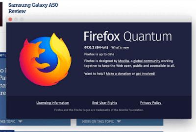 موزيلا فايرفوكس 67 0 2 صدر مع مختلف التحسينات وإصلاح الأخطاء Asd Quantum Galaxy