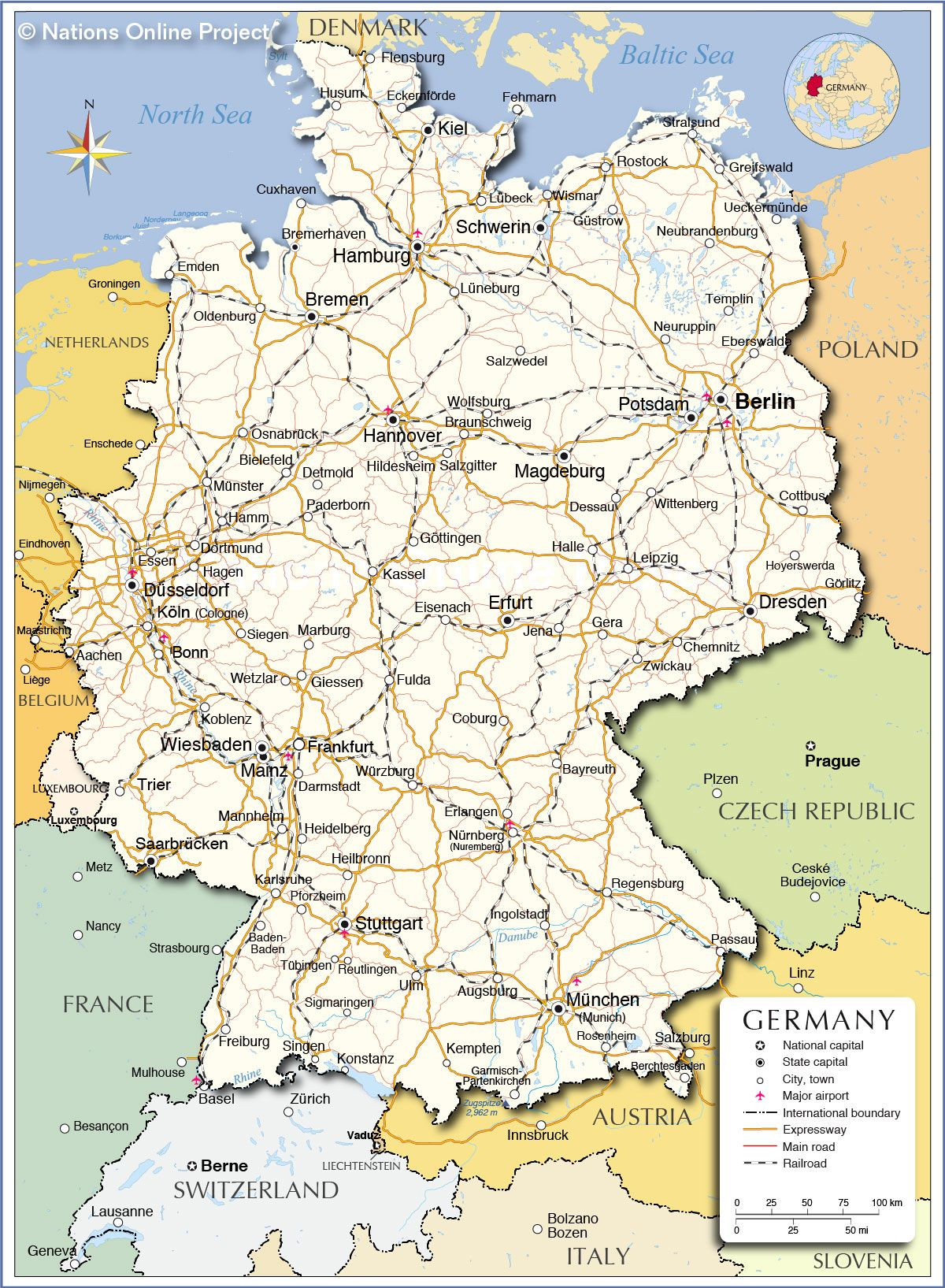 map of germany Google Search Germany Pinterest Geography