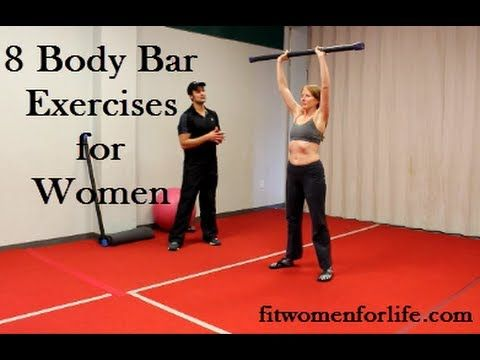 8 body bar exercises for women good ideas  body bars