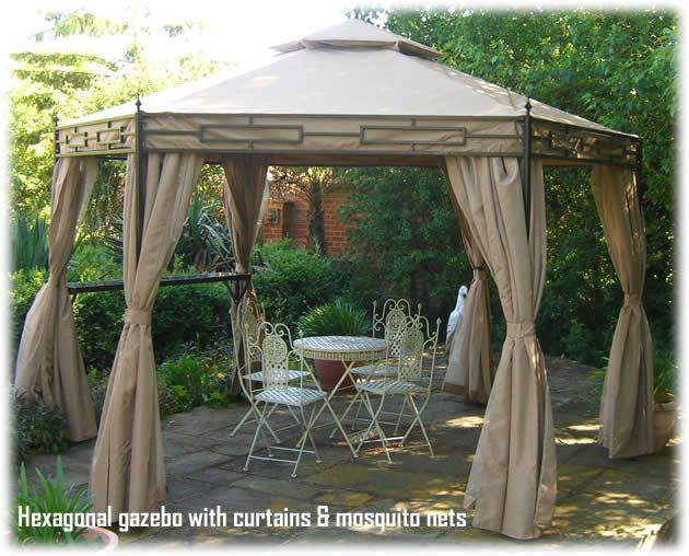 Claydon Hexagonal Luxury Garden Gazebo