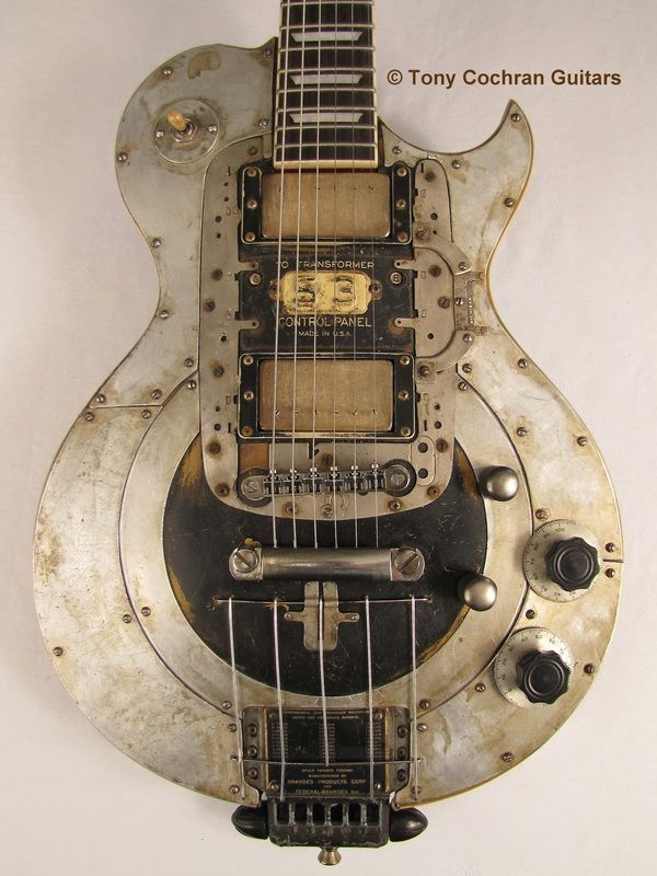 tony cochran guitars for sale tony cochran custom electric guitars steampunk steampunk. Black Bedroom Furniture Sets. Home Design Ideas