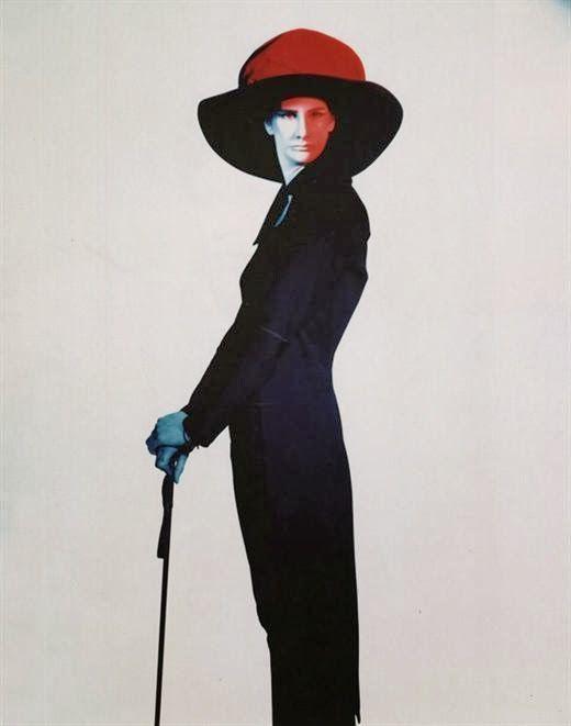 Japanese designer Yohji Yamamoto, early 80's / silhouette, detail