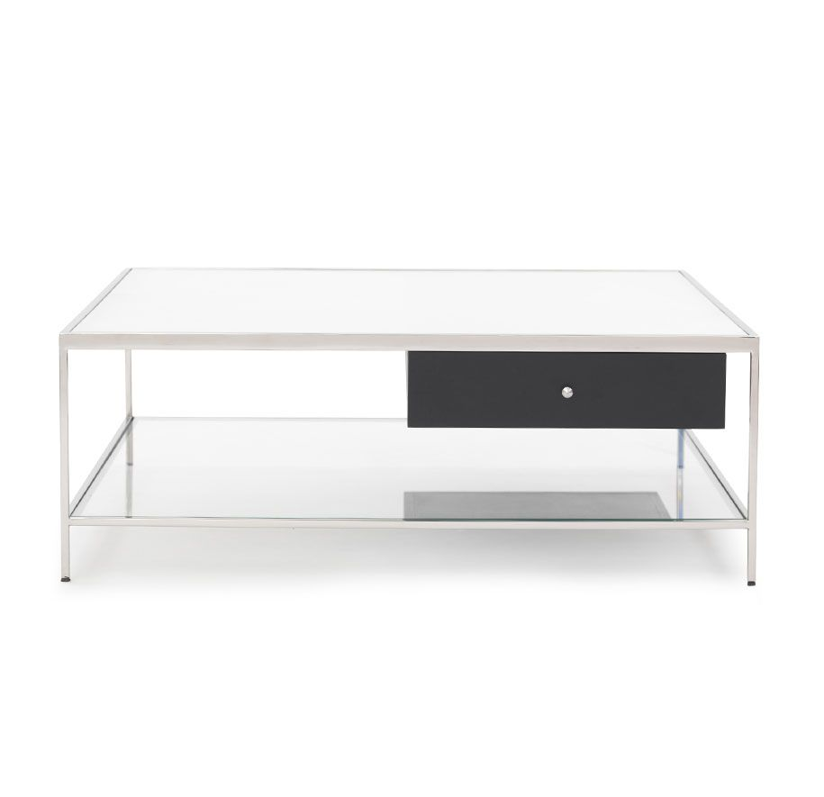 Manning Square Cocktail Table Contemporary Coffee Table Living Room Coffee Table Square Cocktail Table [ 885 x 915 Pixel ]