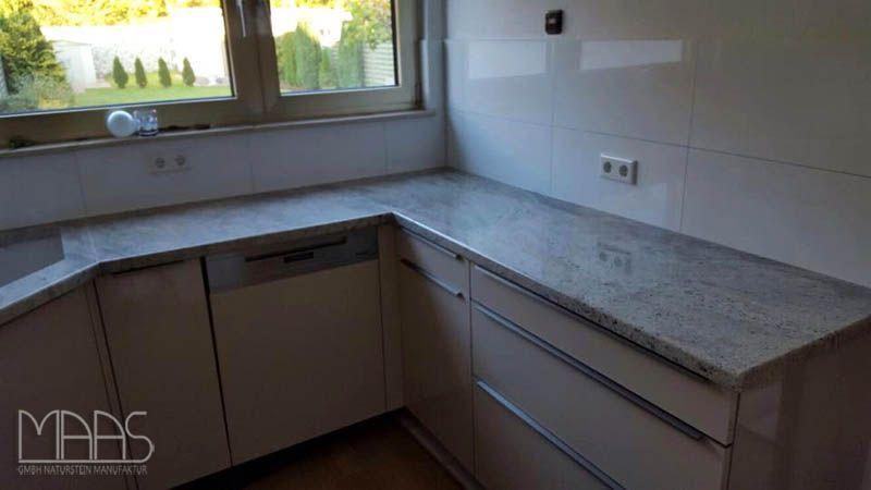 Cielo #White #Granit #Arbeitsplatten    wwwmaasgmbh - granit arbeitsplatte küche