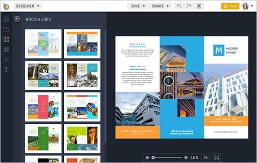 brochure maker by befunky educar resources pinterest brochure