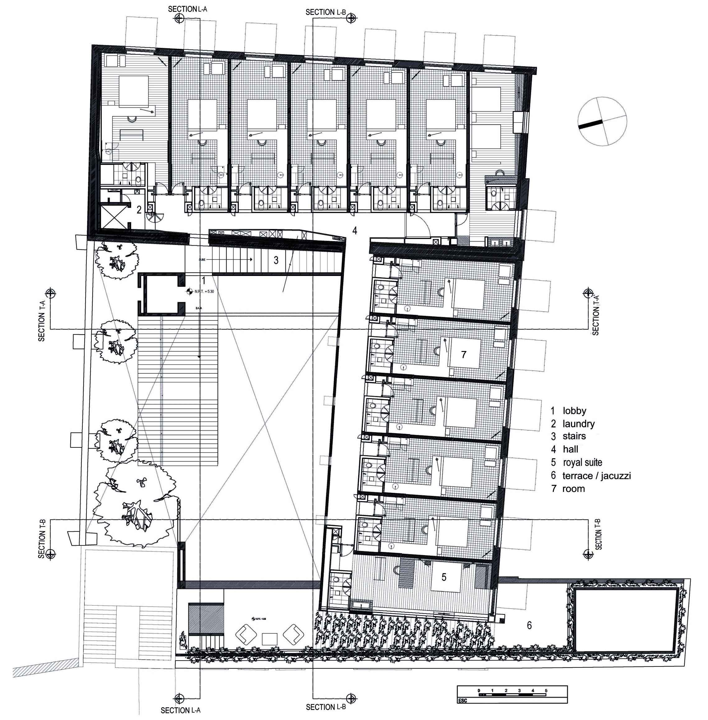 Plan Chambre Hotel La Purificadora Boutique Hotel Plans Google Search Floorplan