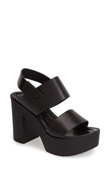 20f69cea750 Steve Madden  Sanders  Platform Sandal (Women) available at  Nordstrom  Slingback Sandal