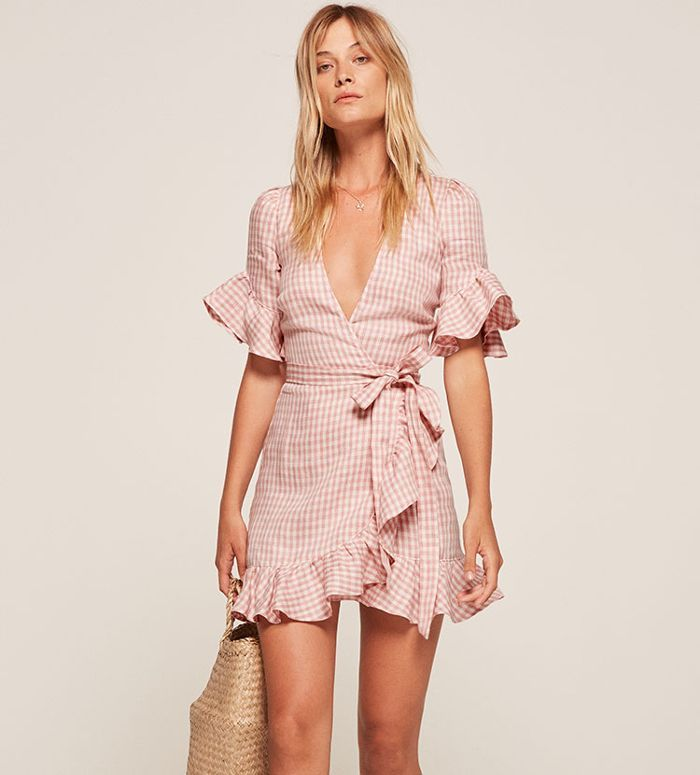 9f32f91dc73c16 These Millennial Pink Reformation Dresses Are About to Take Over Instagram  via  WhoWhatWearUK